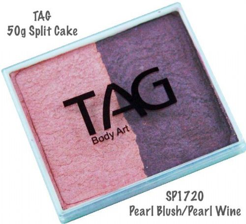 2 Colour Split Cake ~ Pearl Blush / Pearl Wine